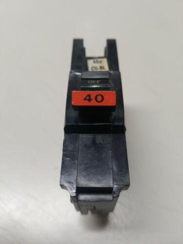 """40 А FPE NA40 1-полюсный федерального Тихого океана или American Stab-Lok 1/"""" выключатель."""