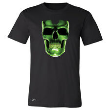 Glow In The Dark Skull Men T-shirt Scary Halloween Costume Cool Gift Shirt Tees