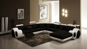 Remarkable Details About Contemporary Italian Design Black White Franco Modern Sectional Designer Sofa Caraccident5 Cool Chair Designs And Ideas Caraccident5Info