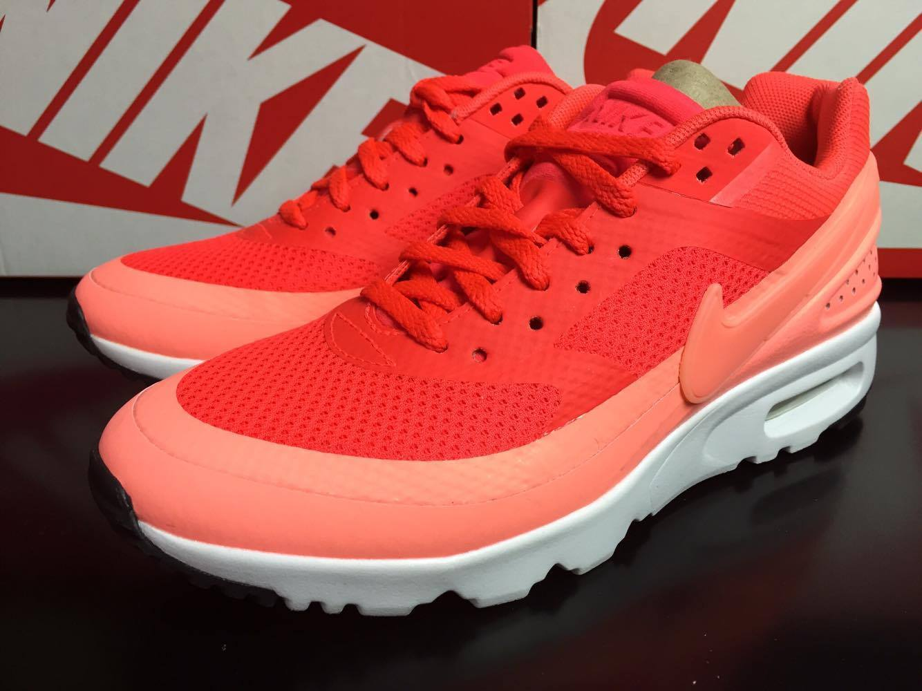 NIKE Femme Air Max BW Ultra Running Chaussures Bright Crimson 819638 600