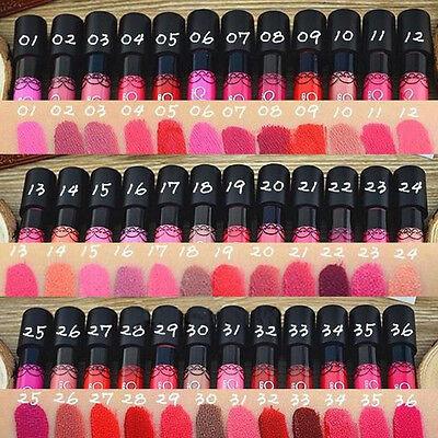 38Colors Women Matte Sexy Waterproof Makeup Lipstick Liquid Pencil Lip Gloss