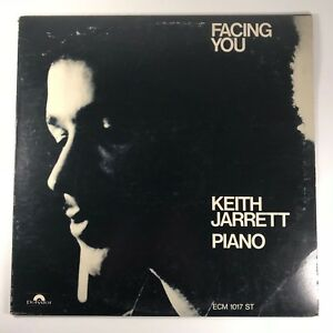 Keith Jarrett ‎– Facing You VG VINYL LP  FREE JAZZ CONTEMPORARY JAZZ ECM-1-1017