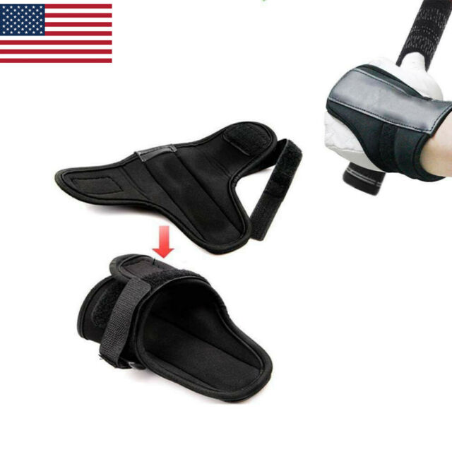 Golf Swing Training Aid Wrist Brace Band Trainer Corrector Practice Tool US Ship