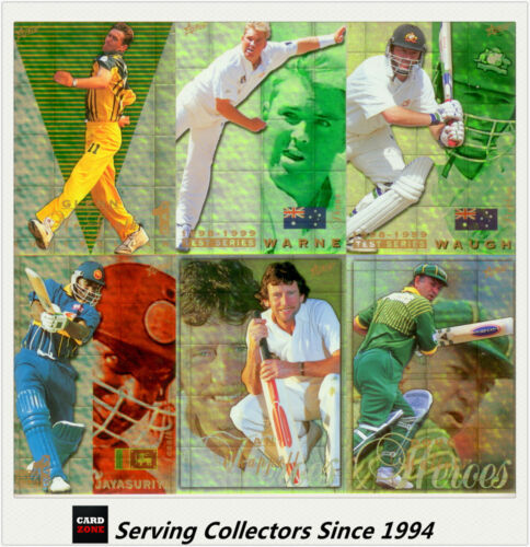 1998/99 Select Cricket Hobby Trading Cards Gold Parallel Set (100)-Ultra Rare