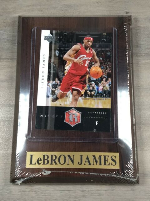 Upper Deck Rivals Lebron James Cavaliers Card Plaque Upper Deck New Ebay