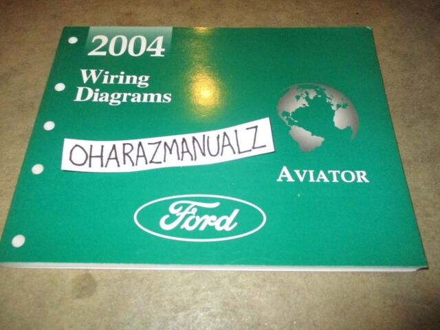 2004 Ford Lincoln Aviator Wiring Diagrams Manual Oem
