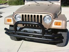 Rampage 8620 Black Front Tube Bumper With Hoop