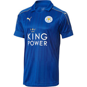 Puma Leicester City Youth Home Soccer Jersey 2016/17 New ...