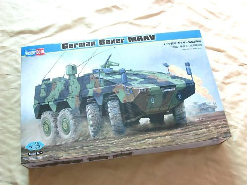 82480 Hobby Boss 1 35 Model German Boxer MAPV Armored Carrier Car Vehicle Kit