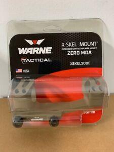 Warne Extended X-Skel 1-Piece MSR Scope Mount FDE 30mm XSKEL30DE