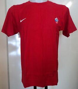 Caricamento dell immagine in corso CSKA-Mosca-Basket-Rosso-T-shirt-Da-Nike- f9727a2e7a19
