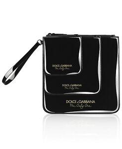 e9c772f856315 Dolce   Gabbana patent black Bag case makeup cosmetic organizer ...