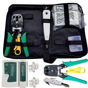 RJ45-Ethernet-Network-Cable-Tester-Crimping-Crimper-Stripper-Cutter-Tool-Kit-Set