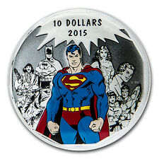 2015 Canada 1/2 oz Silver $10 DC Comics Originals: Legacy - SKU #94249