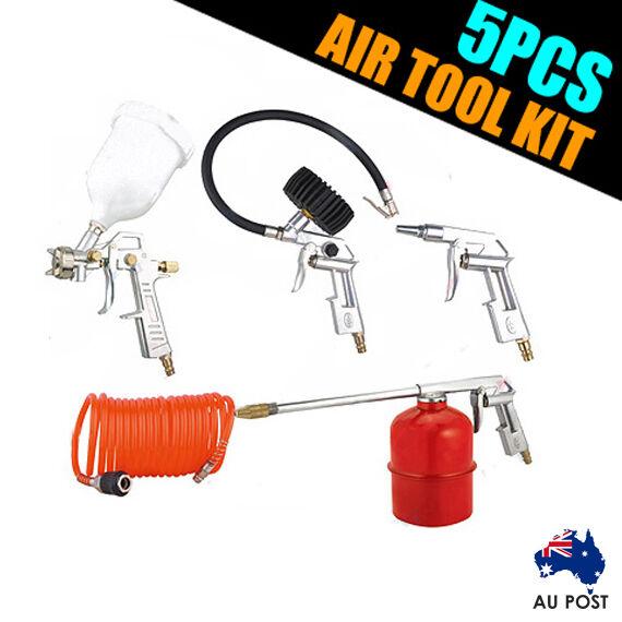 5PCS Car Air Tool Kit for Car Maintenance & Restoration AU