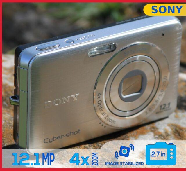 Sony CyberShot DSC-W310 Digital Camera 12.1MP 4x ZOOM Silver Gray