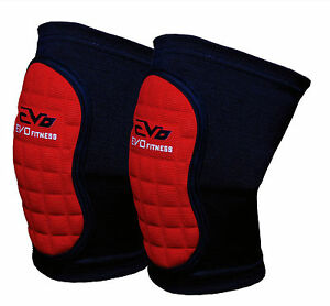 EVO-Volleyball-MMA-Wrestling-Knee-Pads-Guard-Support-Wraps-Martial-Arts-Workwear