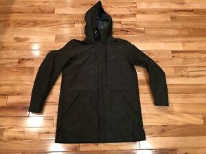5c50e2634f92c Image is loading Nike-Sportswear-Tech-Shield-Hooded-Jacket-Sequoia-Dark-