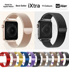 ?Apple watch?Series 5 4 3 2 1 Milanese Magnetic Stainless Loop Strap Band iwatch