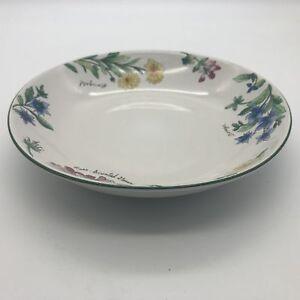 Sakura-Majesticware-Geranium-Flowers-Floral-Design-Soup-Cereal-Bowl