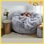 thumbnail 1 - ⭐NEW Microsuede 6ft Foam Giant Bean Bag Living Room Chair Memory Lazy Sofa Cover