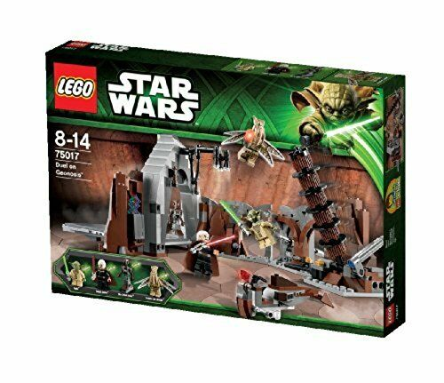 LEGO? Star WarsTM Duel on Geonosis with Jedi Minifigures and Lightsabers | 75017