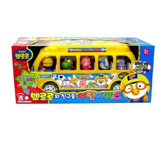 Pgoldro with Freinds Figures TV Character Toys Melody Kids School Bus_amga