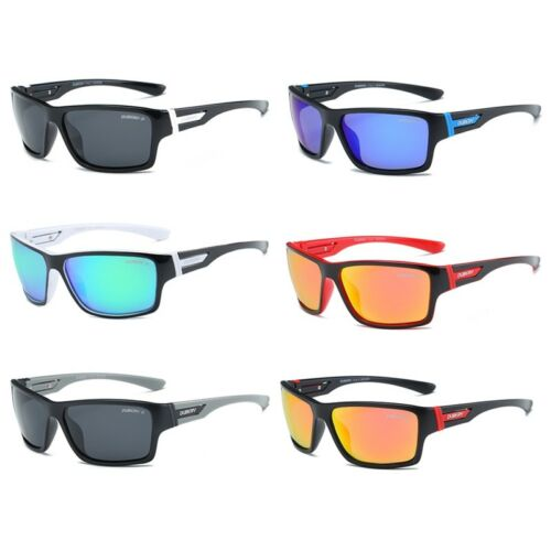 DUBERY Polarized Sunglasses Men Sport Running Fishing Golfing Driving Glasses US