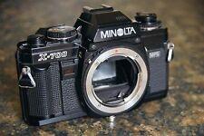 Minolta X-700 manual 35mm film camera