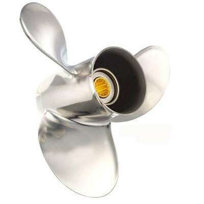 Solas Saturn Propeller for Honda Tohatsu-Nissan 25-30 HP 10x13 5221-100-13 MD