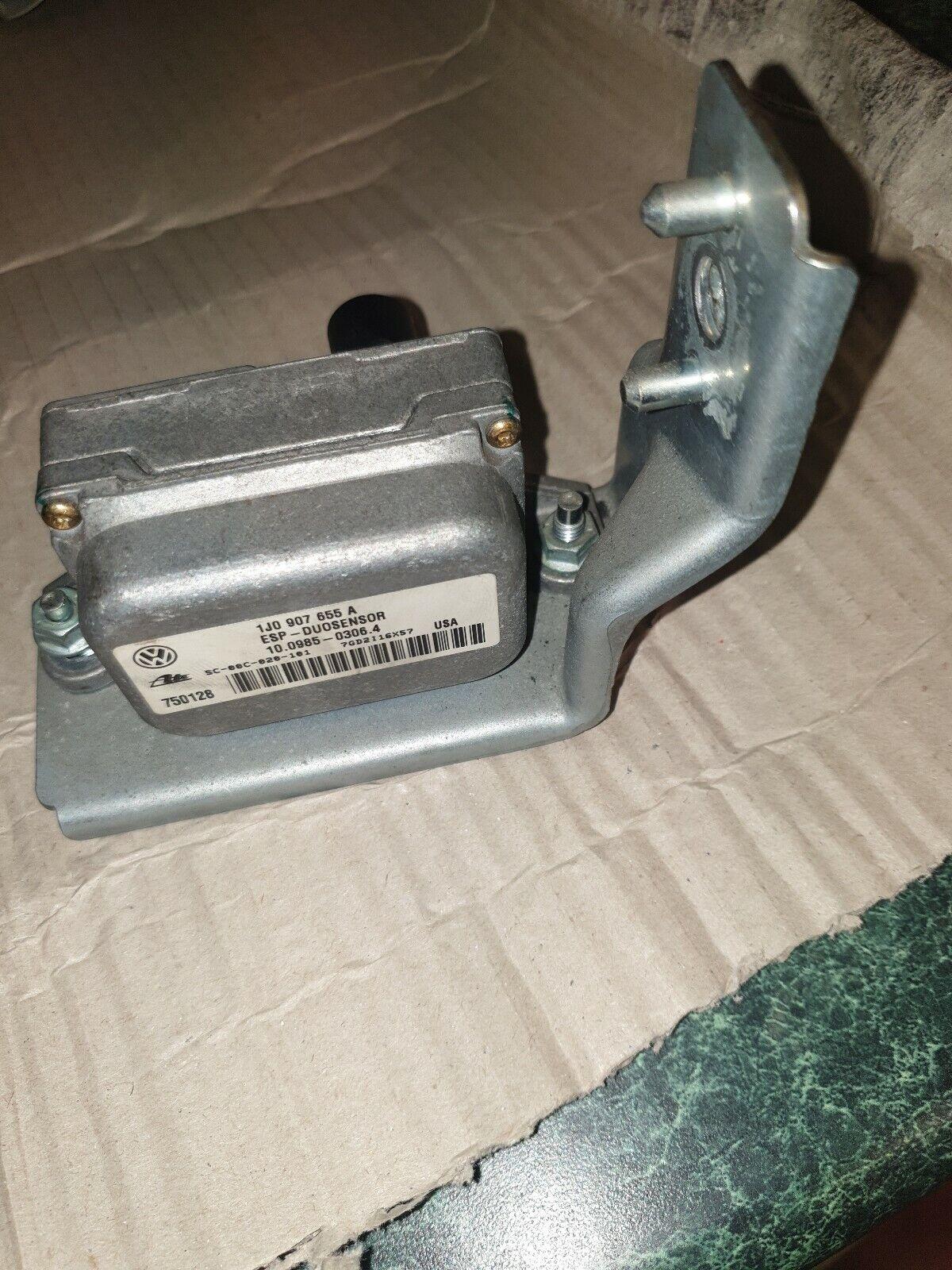 VW AUDI LATERAL ACCELERATION YAW RATE ESP SENSOR 1J0907655A  1J2907637E
