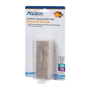 Aqueon-QuietFlow-20-75-Ammonia-Reducer-Filter-Pads-4-Pack