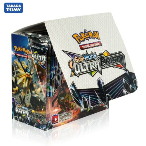 324Pcs//Box Pokemon Game Card TCG Sun and Moon Ultra Prism 36 Pack Booster cards