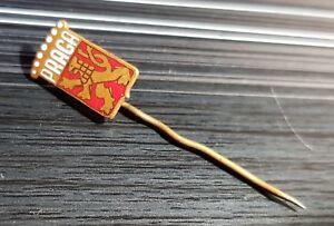 Abzeichen & Nadeln Bis 1945 Pins & Anstecknadeln Ehrlichkeit Praga Anstecknadel Rot Weiß Emailliert Maße 10x16mm Geeignet FüR MäNner Und Frauen Aller Altersgruppen In Allen Jahreszeiten