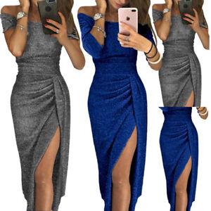 Caricamento dell immagine in corso Vestito-lungo-donna-elegante -sexy-abito-da-sera- 35612ec3f0a