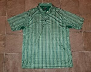 adidas-sz-L-Men-039-s-ClimaCOOL-Golf-Polo-Shirt-Green-S4
