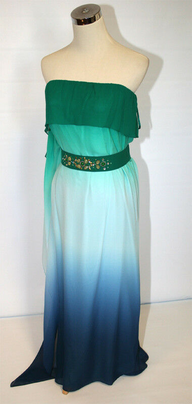 NWT BCBG MAX AZRIA  398 Inkcombo Womens Womens Womens Prom Gown 2 6e10d1