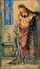 The Toilette Gustave Moreau Bad Baden Frauen Nackt Orient Tücher B A3 02184