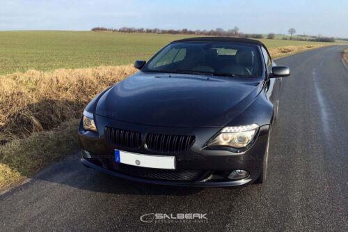 NERO Alto Lucido Rivestito renale Set 6er BMW e64 Cabrio m6 salberk 6301dl