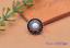10X-Silver-Tone-Flower-Leather-Craft-Bag-Belt-Purse-Decor-Turquoise-Conchos-Set miniature 7