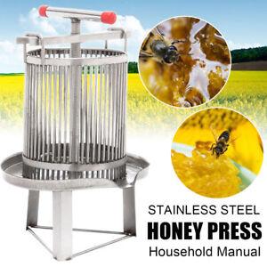 Machine manuelle de cire de presseur de presse d'abeille de miel pour la cire, le fruit, la lie de médecine rapides!