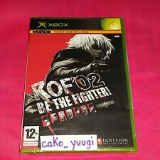 XBOX THE KING OF FIGHTERS 2002 XBOX KOF 02 XBOX NEUF SOUS BLISTER