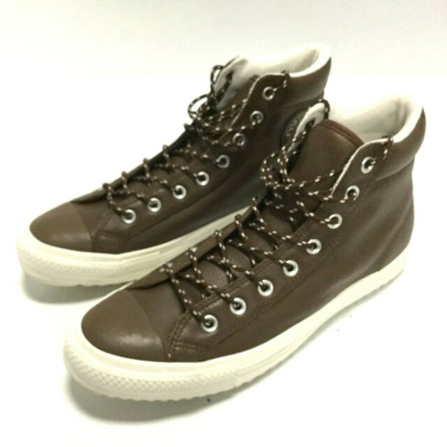 077cc4b8423 Converse Adult Unisex Taylor All Star Leather High Top Shoes Sneakers  157685C