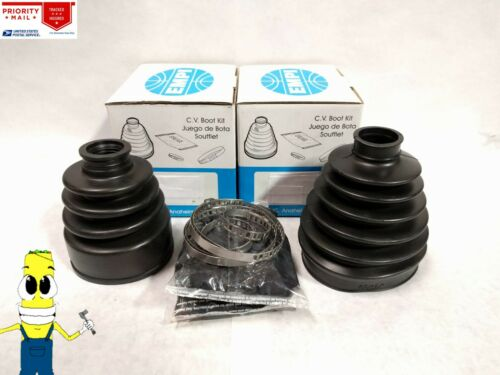 Inner /& Outer CV Axle Boot Kit For Infiniti QX60 2014-2017 w// 3.5L AWD