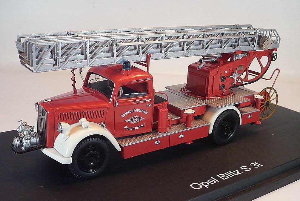 orden en línea Schuco 1 1 1 43 Opel Blitz s 3t explotación bomberos empresa Theimer OVP  3486  hasta 60% de descuento