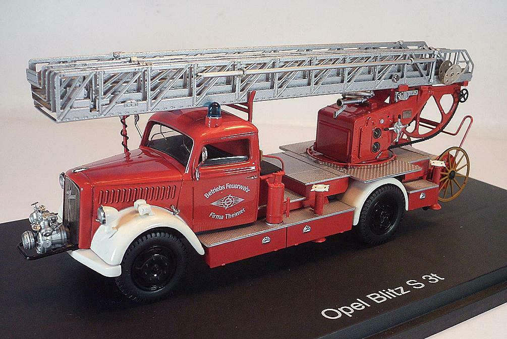 la mejor oferta de tienda online Schuco 1 1 1 43 Opel Blitz s 3t explotación bomberos empresa Theimer OVP  3486  solo para ti
