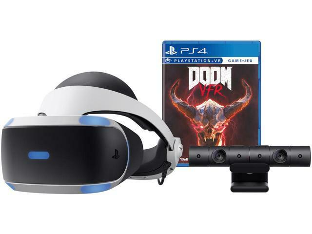 NewEgg - Sony PlayStation VR Doom VFR Bundle - $249.99