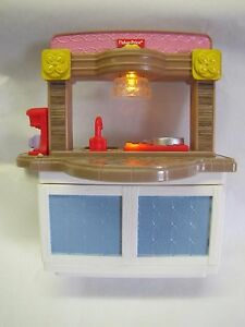 Image Is Loading New Fisher Price Loving Family Dollhouse Kitchen Unit