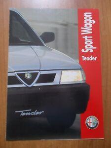 depliant pubblicità ALFA ROMEO ALFA 33 1.3 IE TENDER