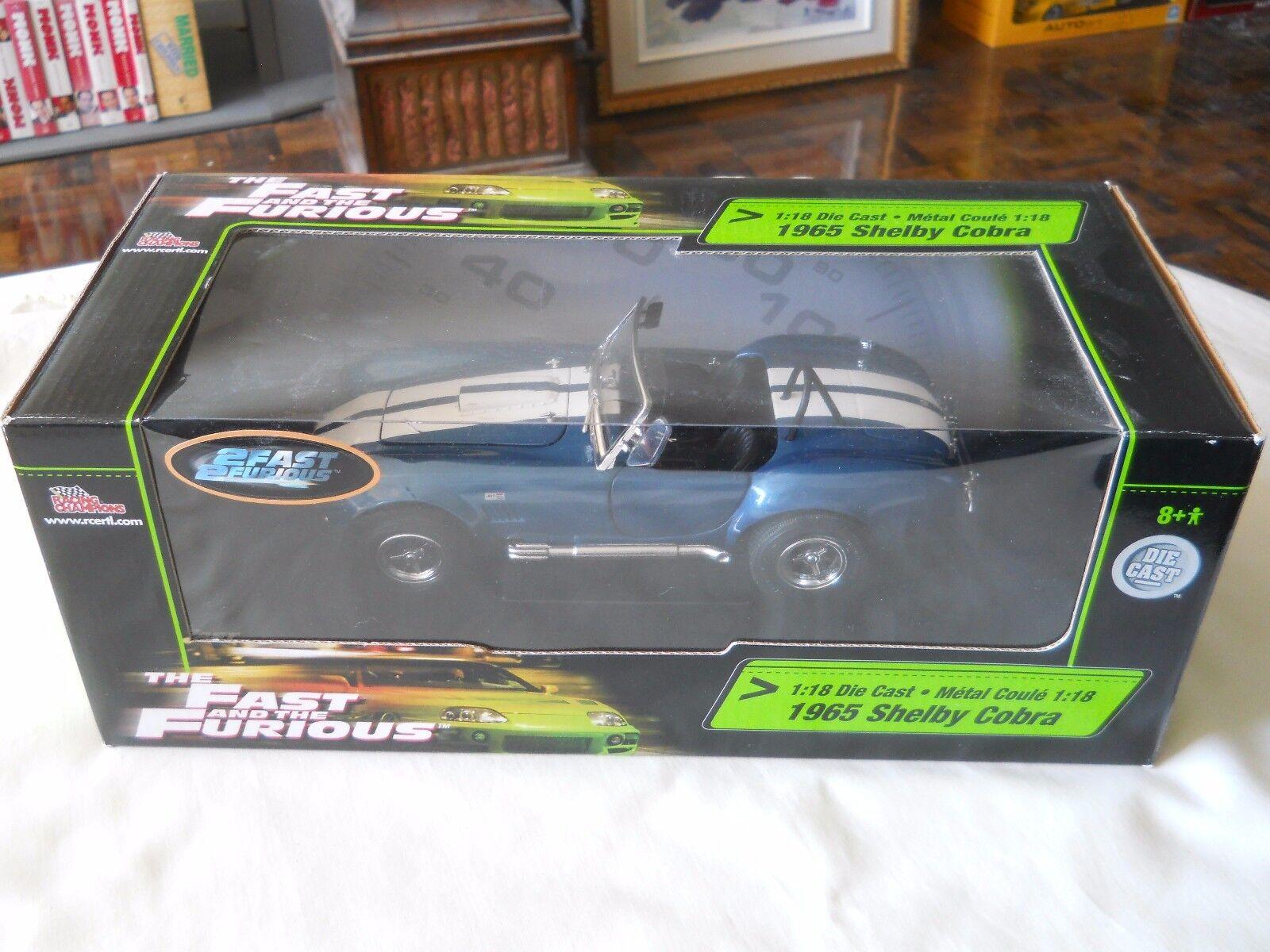 1965 Shelby Cobra cobra rapido y furioso ELT Joe Joe Joe Reid 1  18 464
